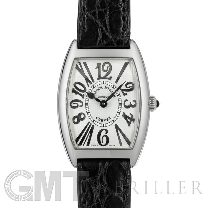 [最大3万円引き! 5/1]フランクミュラー トノーカーベックス 1752QZ REL V-R アンサンブル シルバー ブラックレザー FRANCK MULLER 中古レディース 腕時計 送料無料 年中無休