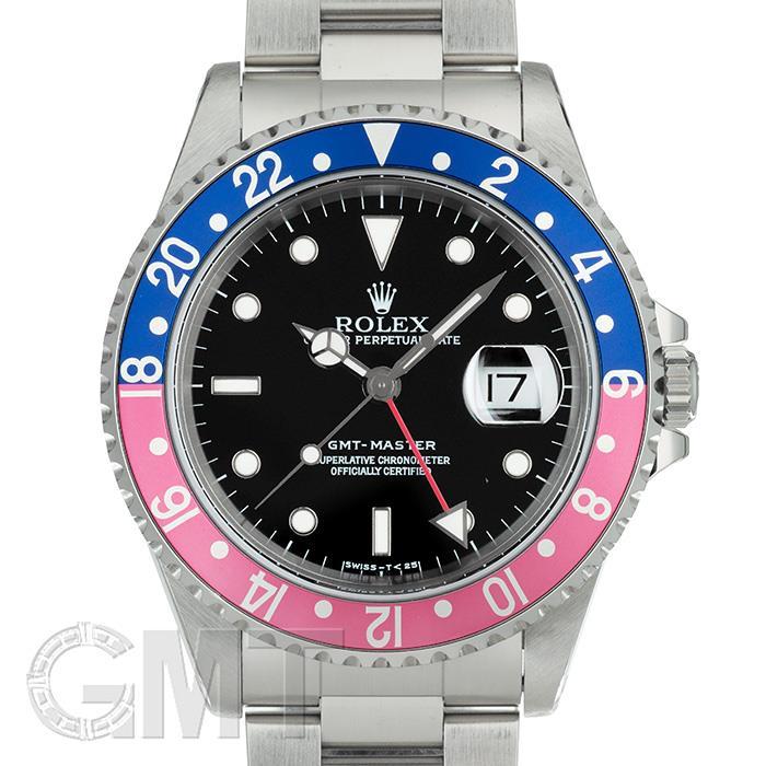 ロレックス GMTマスター 16700 ブルー/レッド T番 オールトリチウム ROLEX 中古 メンズ 腕時計 送料無料 年中無休