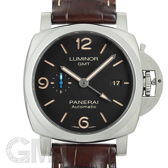 パネライ ルミノール1950 3days GMT 44MM PAM01320 OFFICINE PANERAI 中古メンズ 腕時計 送料無料 年中無休