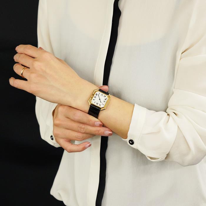 [最大3万円引き! 5/1]カルティエ サンチュールLM YG オートマティック CARTIER 中古ユニセックス 腕時計 送料無料 年中無休