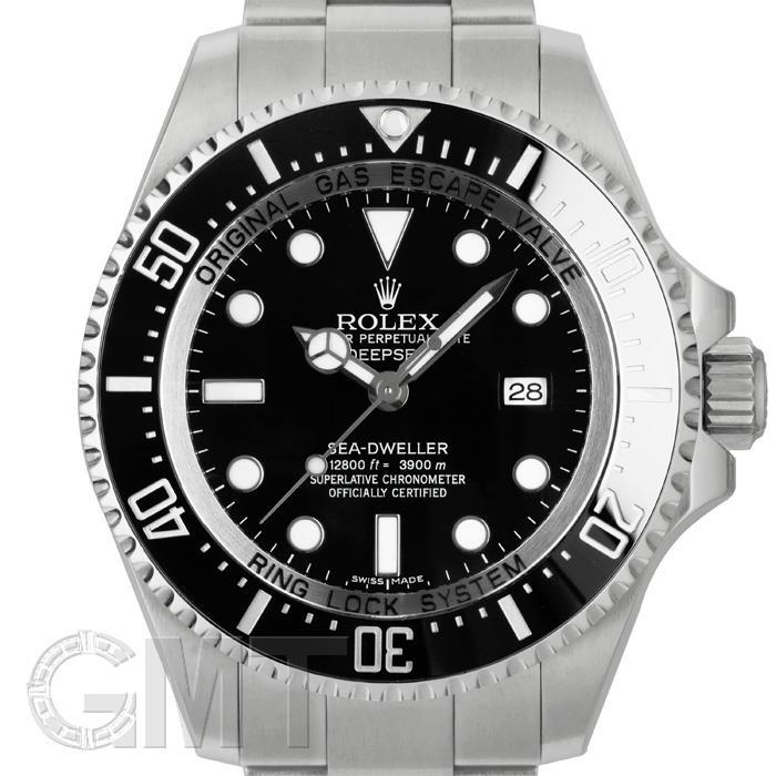 [最大3万円引き! 5/1]ロレックス ディープシー 116660 ブラック ランダムシリアル ROLEX 中古メンズ 腕時計 送料無料 年中無休