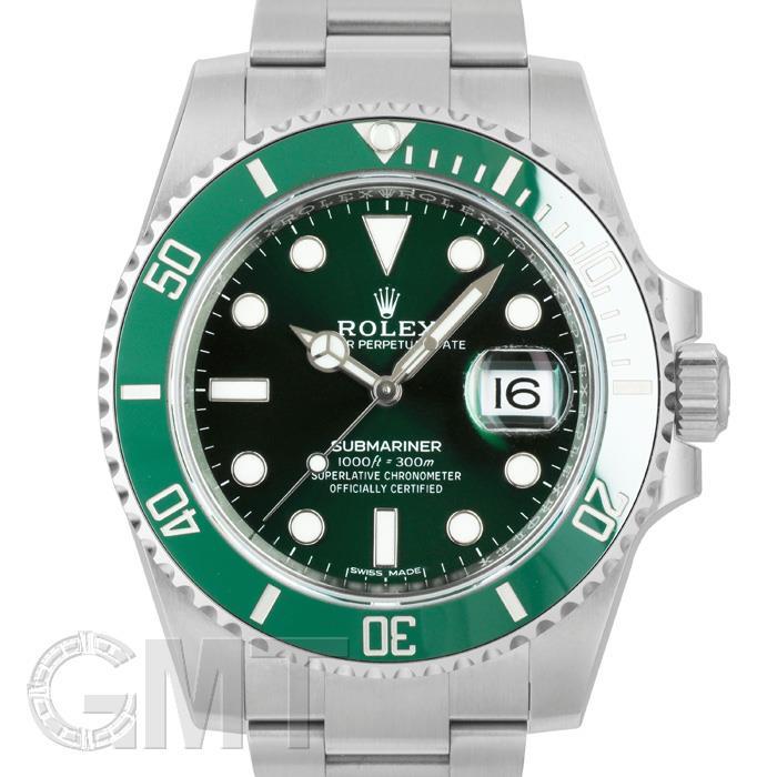 [最大3万円引き! 5/1]未使用品/保護シールなしロレックス サブマリーナ デイト デイト 116610LV ROLEX 未使用品メンズ 腕時計 送料無料 年中無休