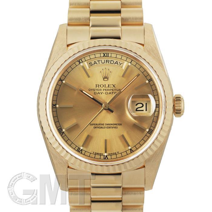 [最大3万円引き! 5/1]ロレックス デイデイト 18238 シャンパン X番 ROLEX 中古メンズ 腕時計 送料無料 年中無休
