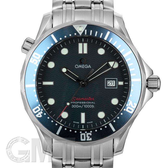 [最大3万円引き! 5/1]オメガ シーマスター300M ブルー クォーツ 2221.80 OMEGA 中古メンズ 腕時計 送料無料 年中無休
