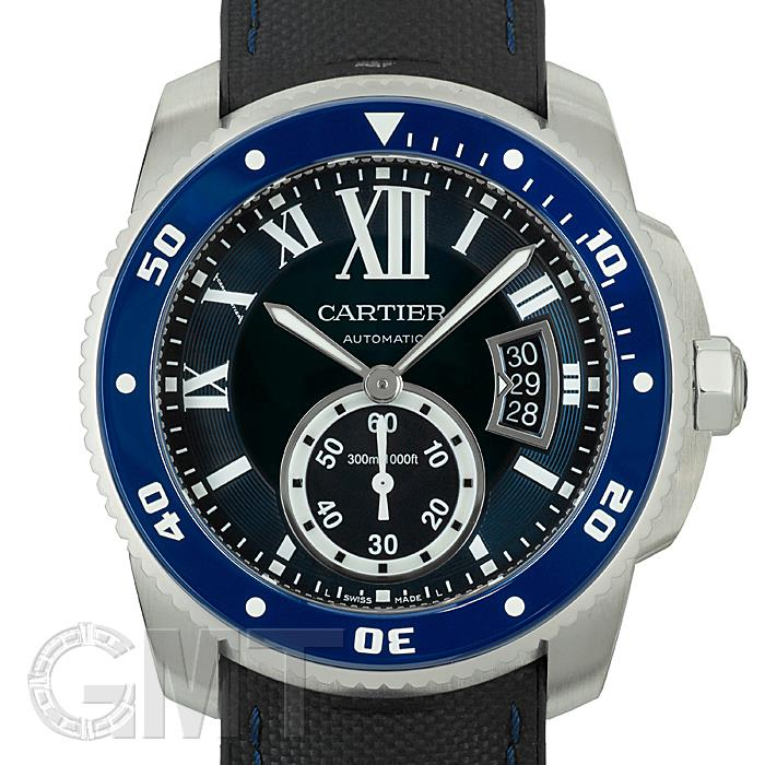 カルティエ カリブルドゥ カルティエ ダイバー WSCA0010 CARTIER 中古メンズ 腕時計 送料無料 年中無休