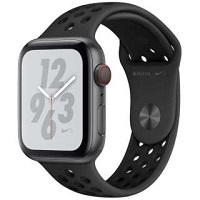 【新品】APPLE Apple Watch Nike+ Series 4 GPS+Cellularモデル 44mm MTXM2J/A [アンスラサイト/ブラックNikeスポーツバンド]