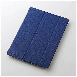 新品 iPad 9.7インチ用 フラップカバー 極み設計 ファブリックフラップ ブルー 2アングル 新商品 TB-A179WVKT1C 正規品スーパーSALE×店内全品キャンペーン