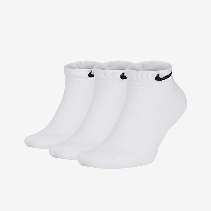 ナイキ《ユニセックス》 エブリデイ クッション ロー 全品最安値に挑戦 ソックス ホワイトxブラック NIKE Nike Everyday Cushioned WhitexBlack - 安い Low ロゴ Socks Wear 白 シンプル #靴下