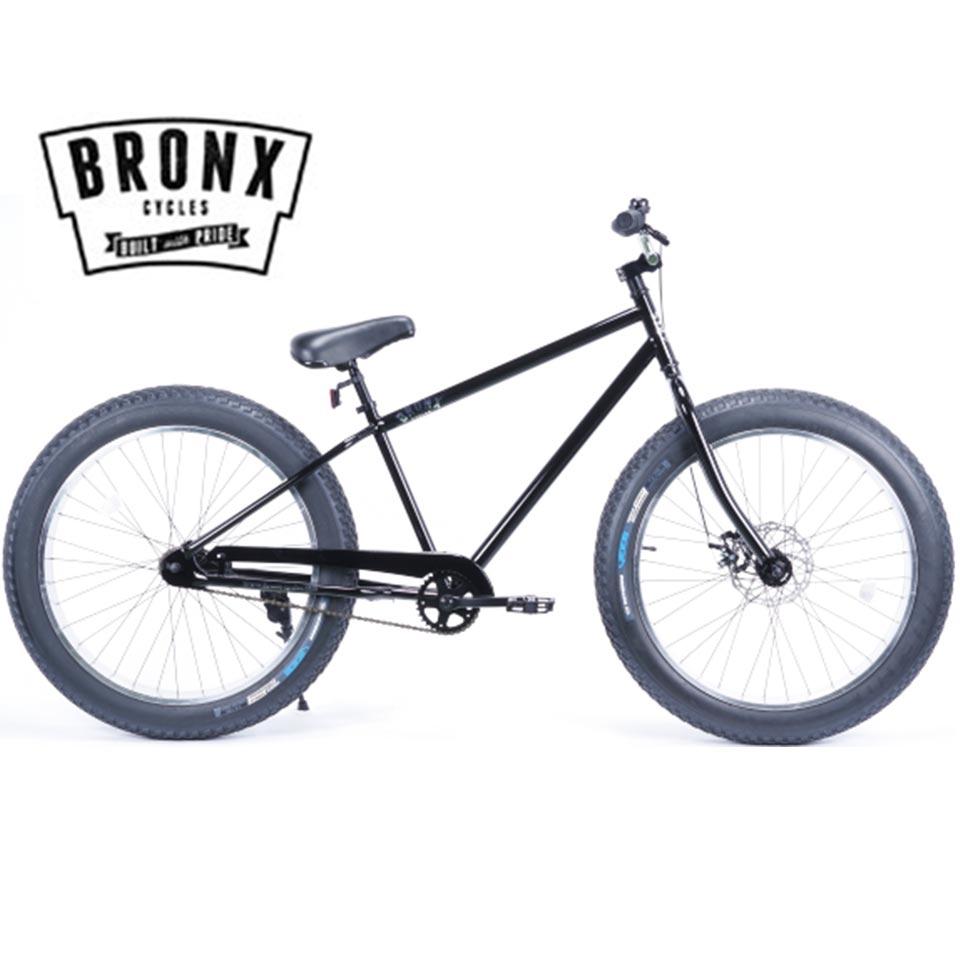 BRONX/ブロンクス BRONX 4.0 26 x 4.0 変速なし ファットバイク 自転車 26インチ FATBIKE / BLACK x POLISHリム