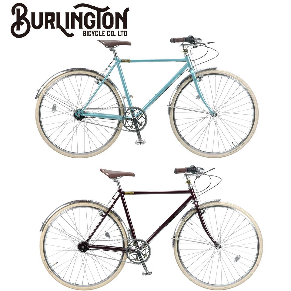 BURLINGTON 700C i5 ホリゾンタル 500mm 内装5段ギア バーリントン ノースウェストバイク ロードバイク 自転車 グレイシア / クリムゾン