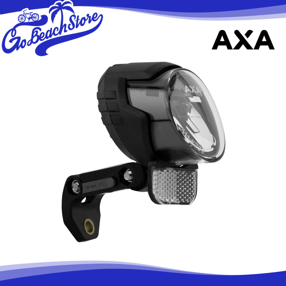 AXA Luxx70 Plus ルクス70プラス ライト 自転車用 LED ヘッドライト USB スマホ充電機能