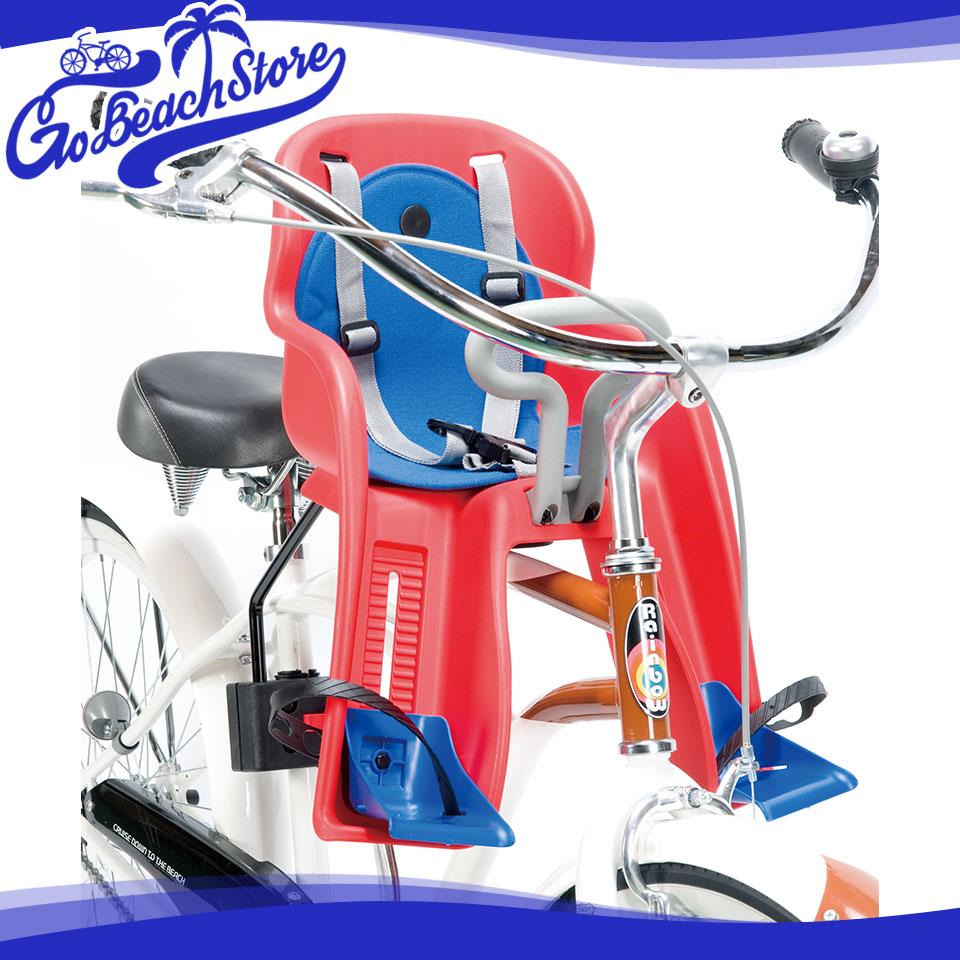 RAINBOW PRODUCTS FRONT CHILDSEAT/フロントチャイルドシート 前用チャイルドシート/専用フレームキット付属 ビーチクルーザーやファットバイクにぴったりなおしゃれな子供乗せ