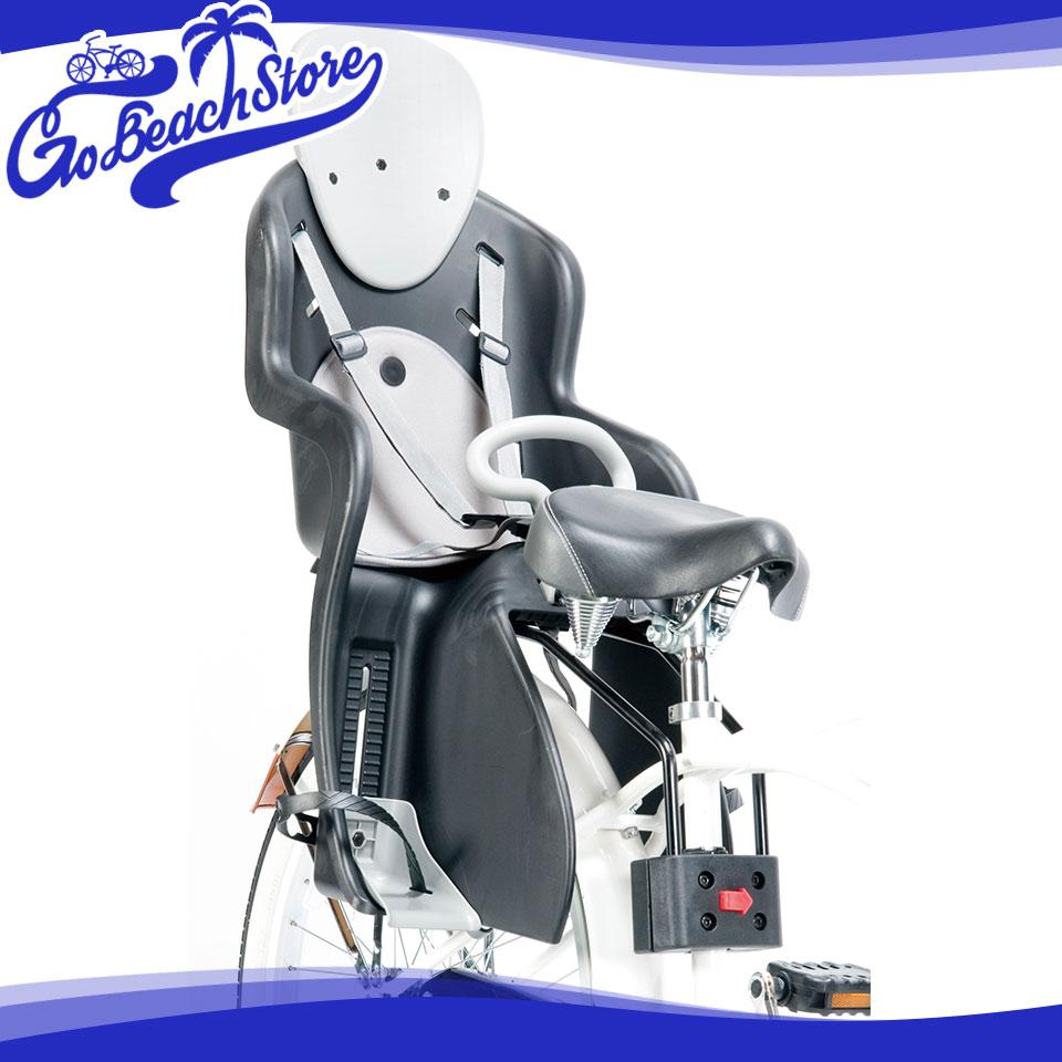 RAINBOW PRODUCTS REAR CHILDSEAT RCS-03/リヤチャイルドシート 後用チャイルドシート/荷台直付タイプ ビーチクルーザーやファットバイクにぴったりなおしゃれな子供乗せ