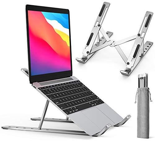 ノートパソコン スタンド PCスタンド改良 折りたたみ式 実物 iVoler タブレット 角度調整可能 高さ アルミ 人気急上昇 スタンドラップトップスタンド
