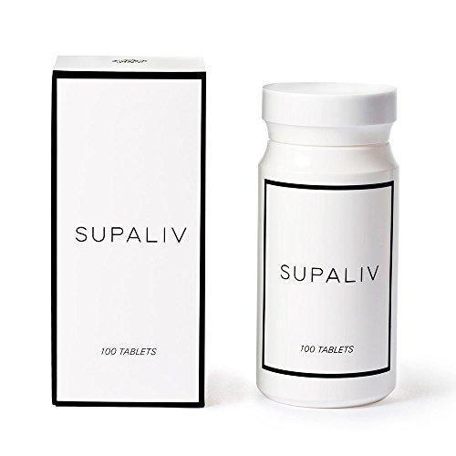 期間限定今なら送料無料 SUPALIV スパリブ サプリメント 特許取得 国内生産 ボトル オンラインショップ 100粒入り 8種類の有用成分 化学合成物質不使用