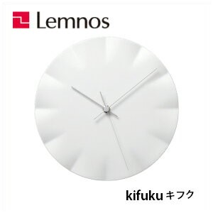 Lemnos レムノス kifuku キフク HN12-09 掛け時計/ 壁掛け時計/橋田 規子/磁器