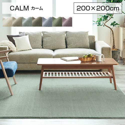 【送料無料】【代引き不可】【SUMINOE スミノエ】ラグマット CALM カーム 200×200cm 134-40306