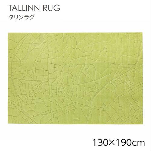 エストニアのタリン市街地を空から見たイメージのラグです サイズが大きくなれば 街並みも広がります SUMINOE スミノエ TALLINN RUG タリンラグ イエローグリーン GREEN #4 ラグマット 134-62865 130×190cm カーペット 大注目 (人気激安) YELLOW