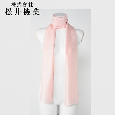 【城端シルク】スカーフ しけ絹  ピンク/紫/金茶