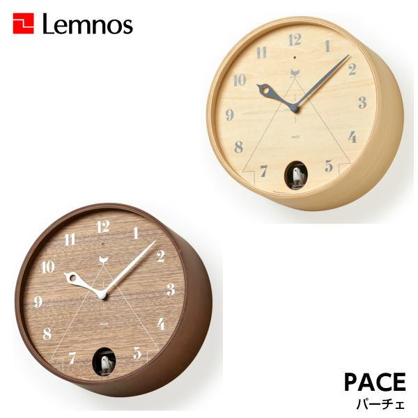 Lemnos レムノス PACE パーチェ LC17-14 NT/LC17-14 BW 掛け時計 カッコー時計 シンプル 山本章
