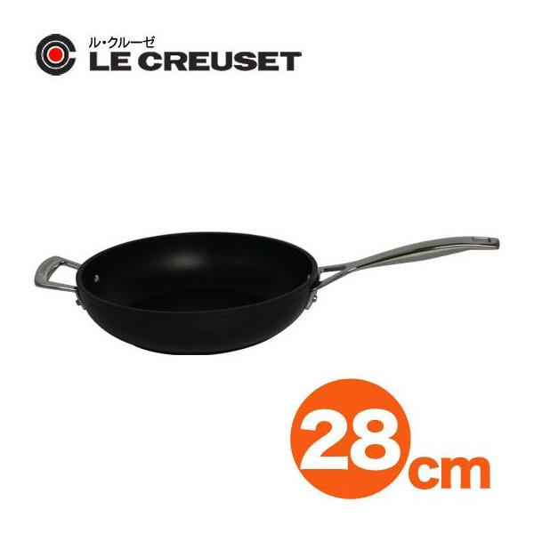 【送料無料】【LE CREUSET-ル・クルーゼ-】 TNS ディープ・フライパン 28cm