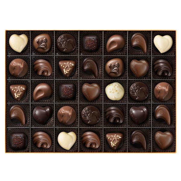父の日 ギフト お返し チョコレート ゴディバ (GODIVA) ゴールド コレクション 35粒入