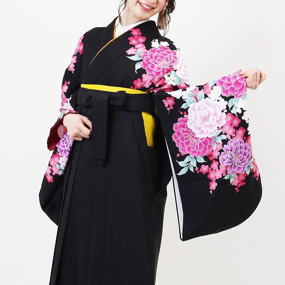 【レンタル】卒業式レンタル袴フルセット-898 往復送料無料 卒業式 袴 レンタル 女 安い 袴セット 卒業式袴セット
