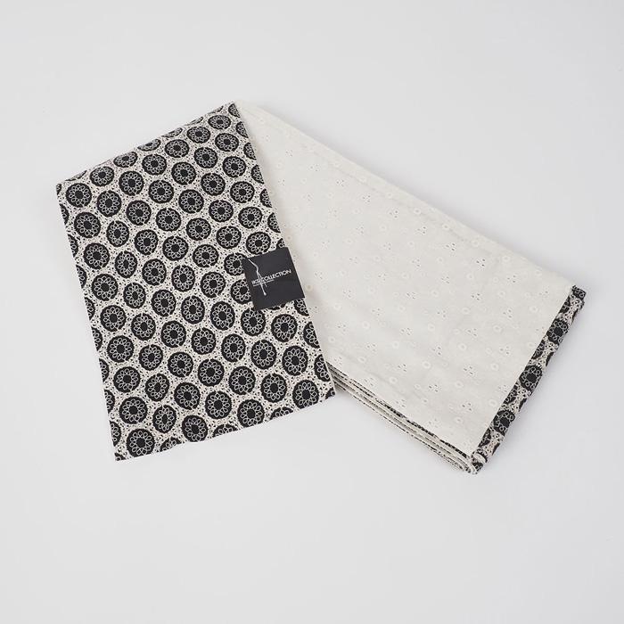 【浴衣と同時購入で2割引】上質のゆかた帯【IKS COLLECTIONオーバルレース刺繍小袋帯】80108