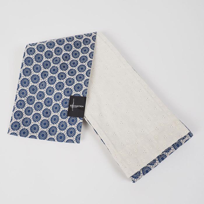 【浴衣と同時購入で2割引】上質のゆかた帯【IKS COLLECTIONオーバルレース刺繍小袋帯】80113