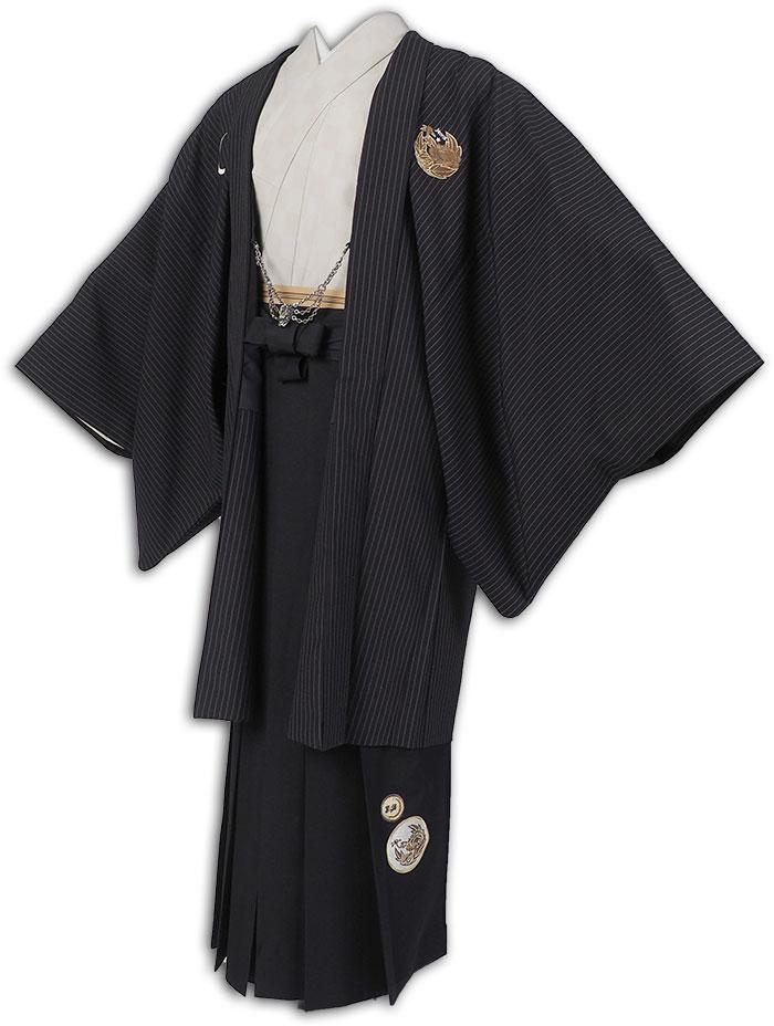 【レンタル】【成人式】安心の最大1ヶ月レンタル可能|男性用レンタル羽織袴フルセット-7114