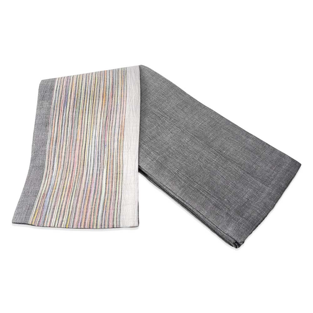 |送料無料|【浴衣と同時購入で2割引】[綿麻・縞小袋帯]シンプルで上質な小袋帯