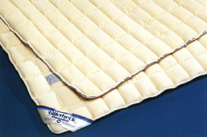 羊毛100%使用ビラベック羊毛敷きパッドシングル 送料無料