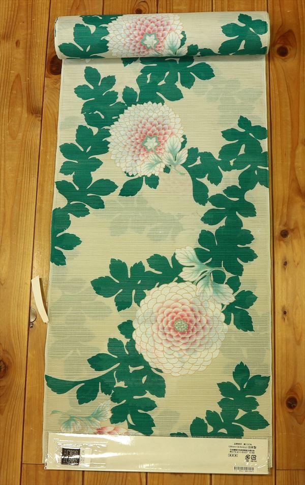 京都の貴族文化が生み出した老舗ブランド岡重ゆかた反物(婦人)yukaw934-045
