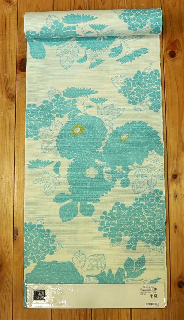 京都の貴族文化が生み出した老舗ブランド岡重ゆかた反物(婦人)yukaw034-060