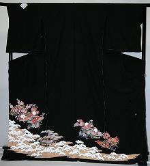 【レンタル】【貸衣裳】 rt217 留袖 【貸衣装】 ワイドサイズ ゆったりサイズ 大きいサイズ 往復 送料無料【smtb-k】