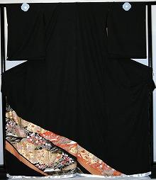 【レンタル】【貸衣裳】 rt219御所車菊宝づくし 留袖 【貸衣装】 送料無料【smtb-k】