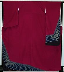 【レンタル】振袖レンタル 2002 【赤・ピンク・赤紫系】【RS794】標準 L寸 7号 9号 11号 13号