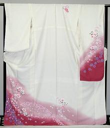 【レンタル】振袖レンタル【白・薄色系】【RF798】標準/L寸/7号/9号/11号/13号/冬のキャンペーン