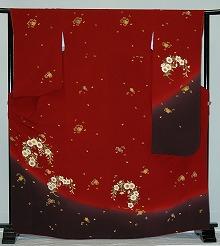 【レンタル】振袖レンタル【赤・ピンク・赤紫系】【RF804】標準/L寸/7号/9号/11号/13号/秋のキャンペーン