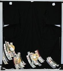 【留袖】レンタル 13号迄 H105cm迄 黒留袖 フルセットレンタル 往復送料無料 普通サイズ S M L LL 7号 9号 11号 13号 ヒップ105cm迄 留袖レンタル 貸衣装 正絹 結婚式 高級品 母親 服装 とめそで rental 大阪 和泉市 堺市 岸和田市 泉大津市 高石市 貝塚市【rt148】