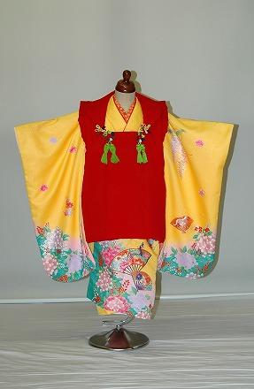【レンタル】【貸衣裳】s35七五三・3歳女児レンタル【貸衣装】秋のキャンペーン