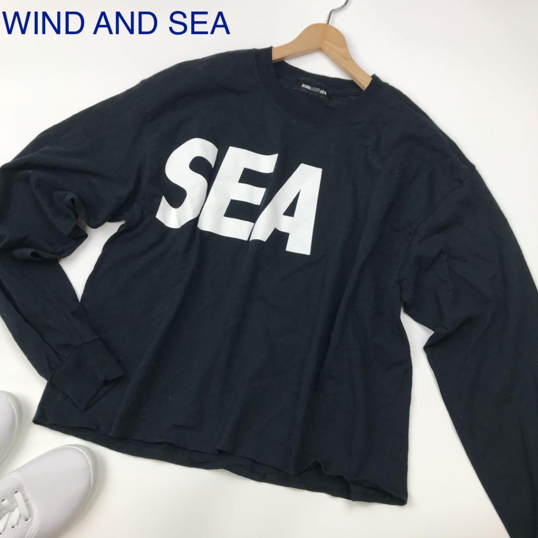 WIND AND 人気ブランド多数対象 新作販売 SEA ウィンダンシー カットソー スウェット 長袖