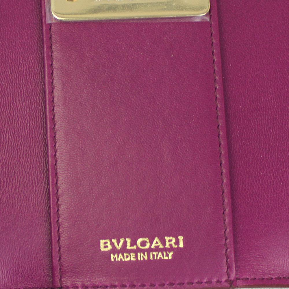 ブルガリ キーケース 287082 BVLGARI 6連キーケース ブルガリブルガリ レザー ルビーワイン 287082n0kwOP