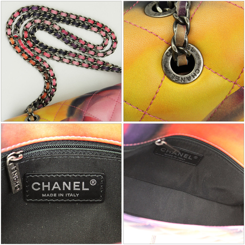 2015 spring summer New Chanel chain shoulder bag multicolor lambskin A92853 Y10887 C7993