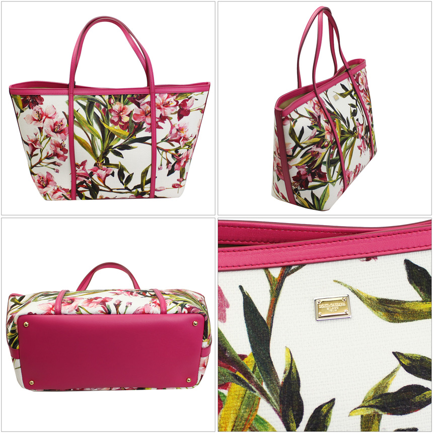 520ab14a8f Dolce   Gabbana tote bag and floral print PVC   leather BB4391-AT238-2