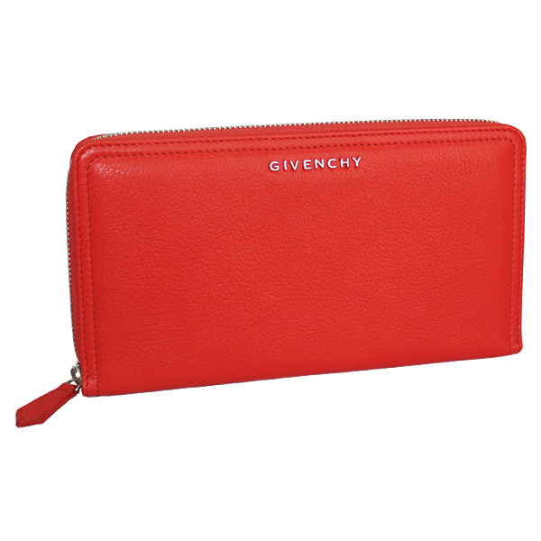 b5455389db Givenchy round fastener long wallet Pandora leather red 13G6219012-601-1  which there is ...