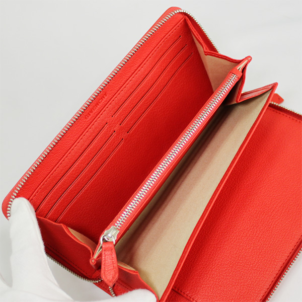 5b9f47d7b6 ... Givenchy round fastener long wallet Pandora leather red 13G6219012-601-1  which there is