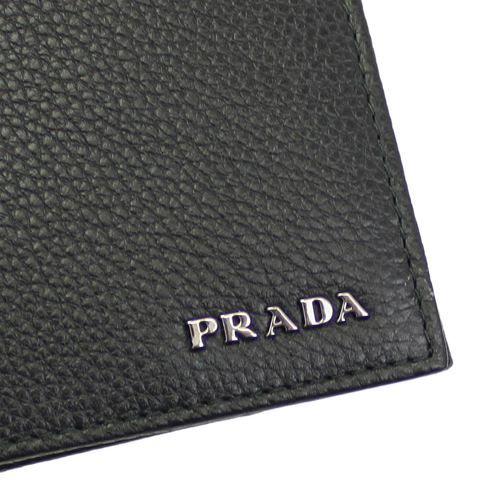 插座普拉达 (prada) 男装两钱夹皮革黑 2 M 0738-维泰-粮食-尼禄