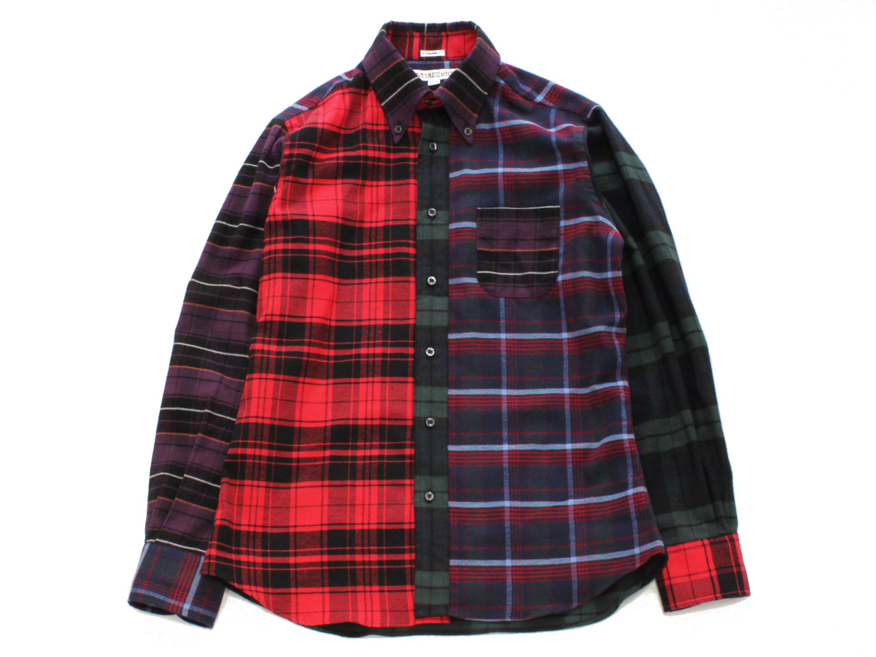 INDIVIDUALIZED SHIRTS【インディビジュアライズドシャツ】ENGNEERED B.D SHIRT *FRANNEL CHECK / STANDARD FIT