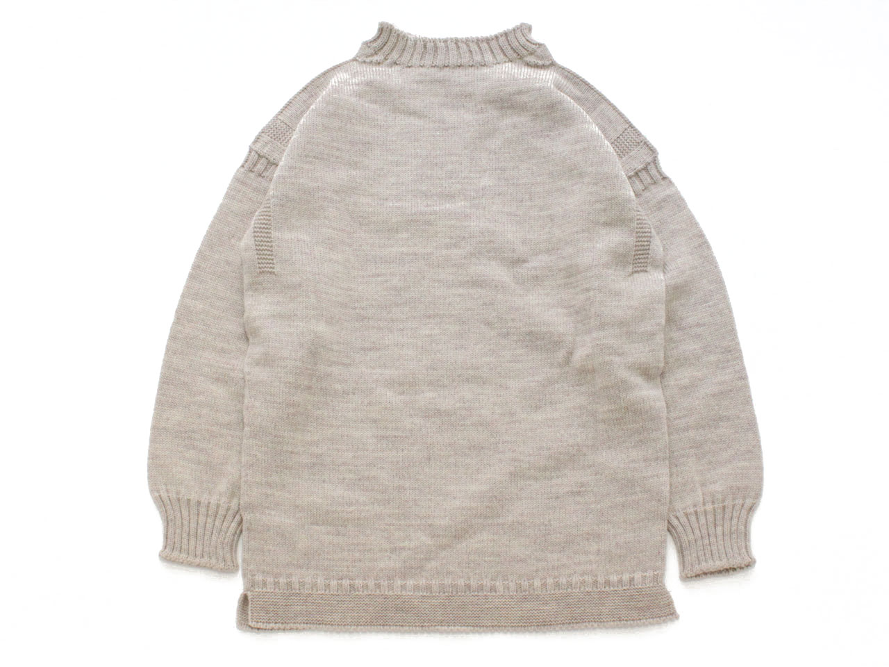 GUERNSEY WOOLLENS【ガンジーウーレンズ】GUERNSEY TRADITIONAL *OATMEAL